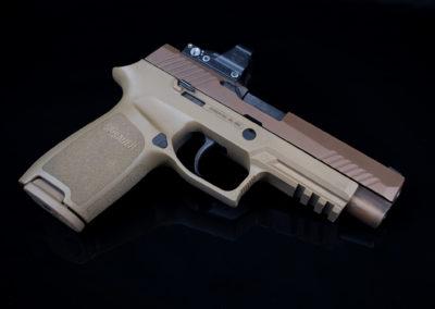 SigSauer M17 Deltapoint Pro 9mm